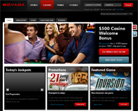 Review of Bovada online casino
